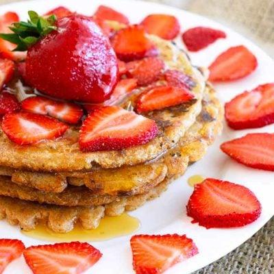 Spelt Pancakes Recipe (Egg Free)