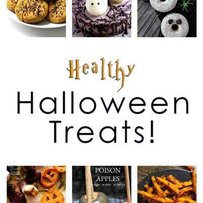 Healthy Halloween Treats Roundup