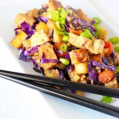 Japanese Tempeh Skillet Recipe