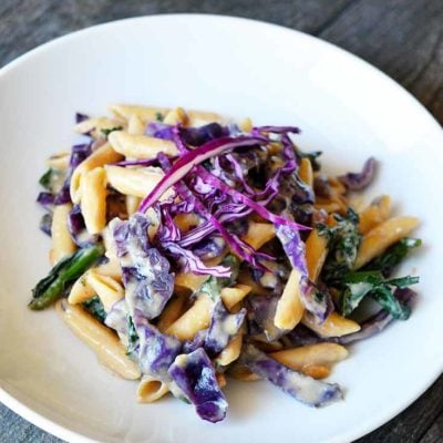 Red Cabbage Pasta Recipe