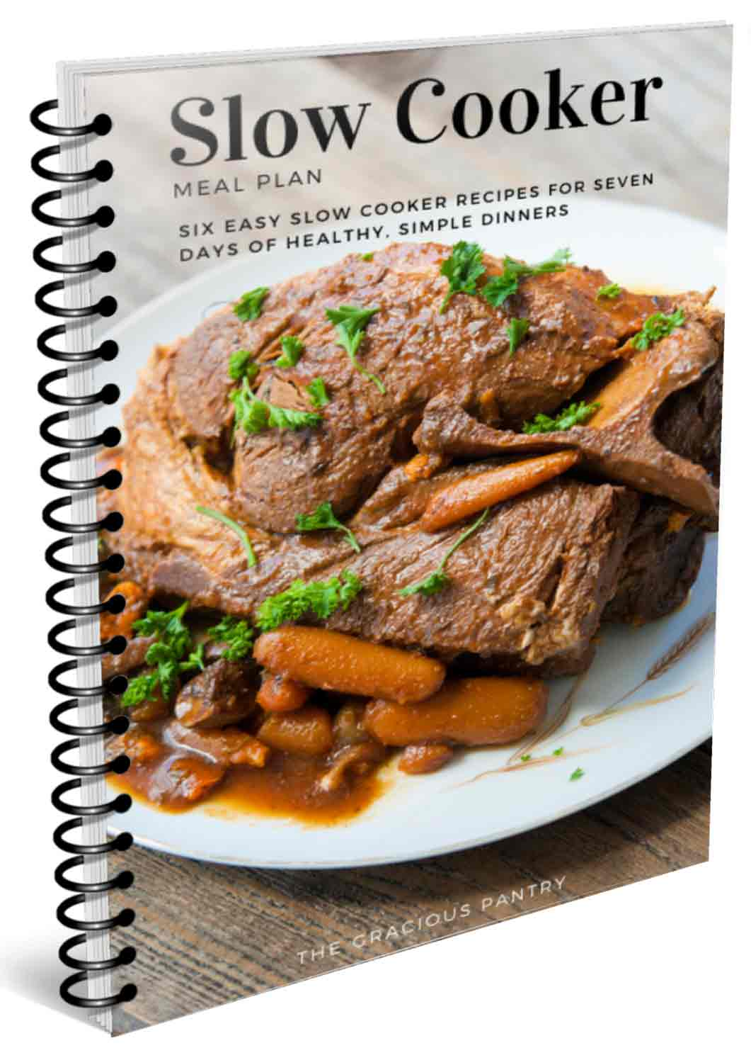Cover of the Slow Cooker 7 Day Meal Plan download