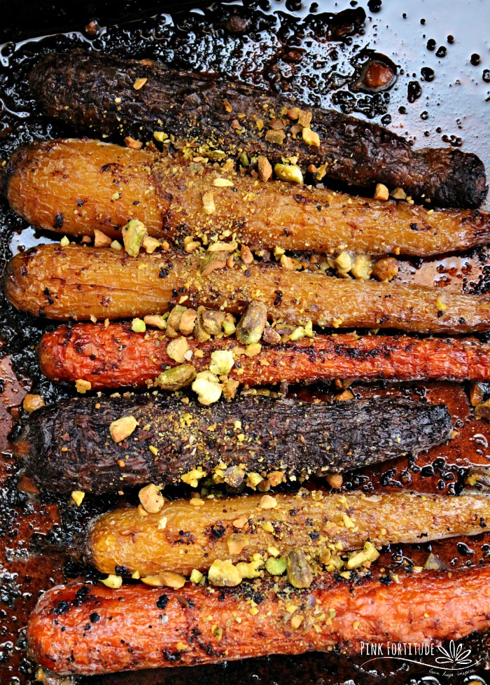 The best roasted carrots in this guide to 15 Clean Eating Easter Recipes