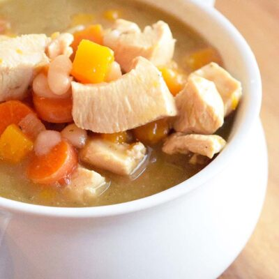 Chicken Stew Recipe With Butternut Squash
