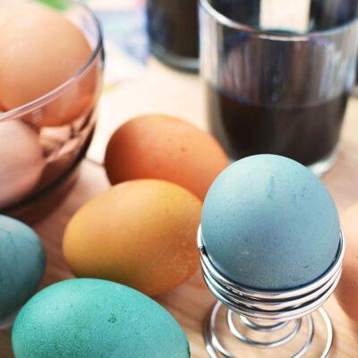 Natural Egg Dye For Easter Eggs