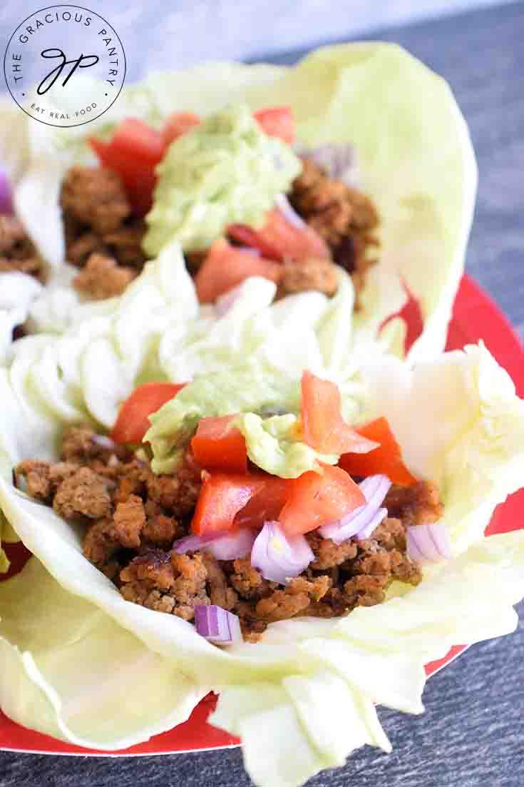 Cabbage Leaf Tacos Recipe