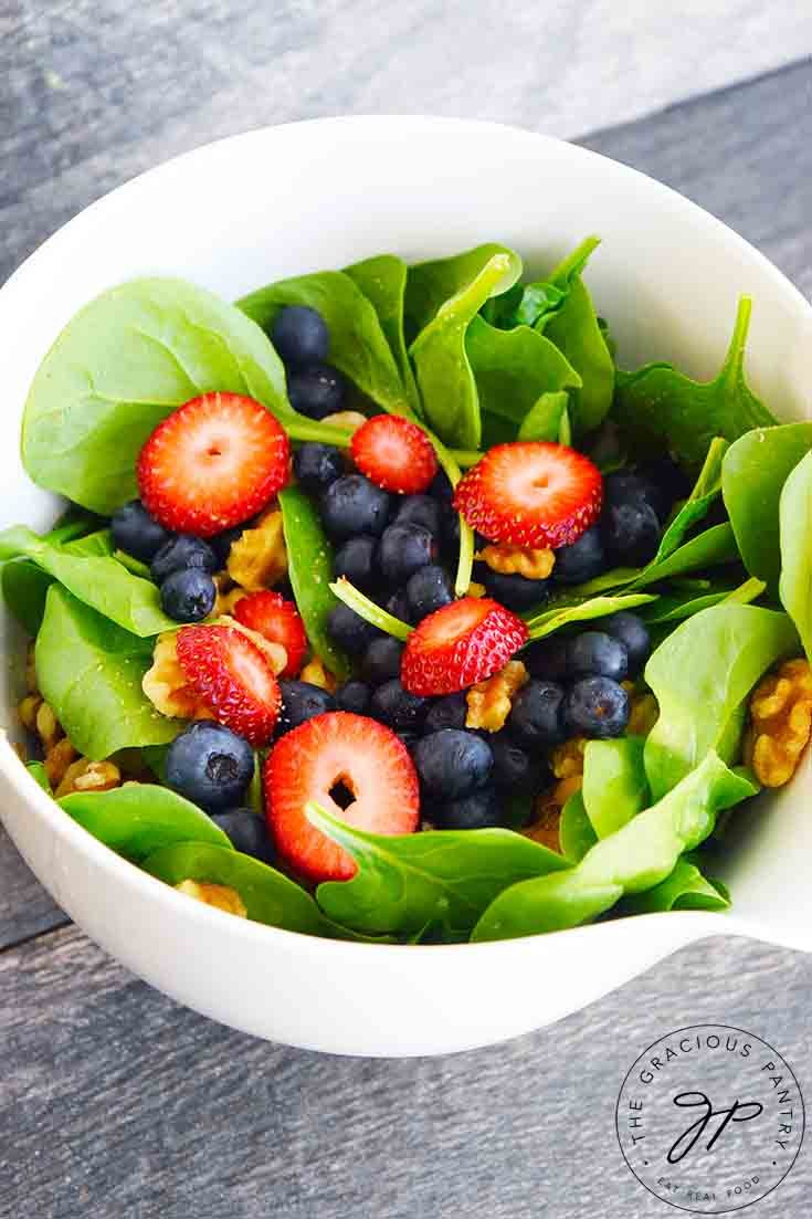 Spinach Salad Recipe
