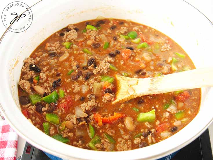 Notes and tips for making this Beef Chili Recipe