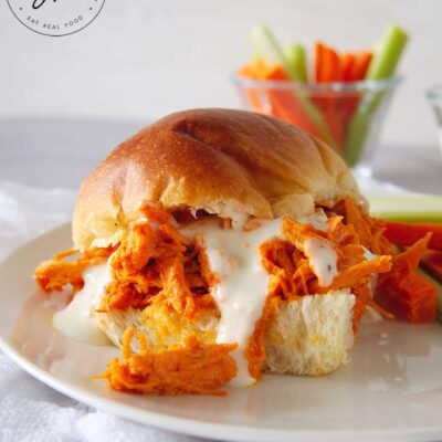 Buffalo Chicken Sandwiches (Instant Pot)