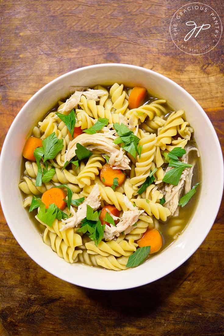 Leftover Turkey Soup Recipe