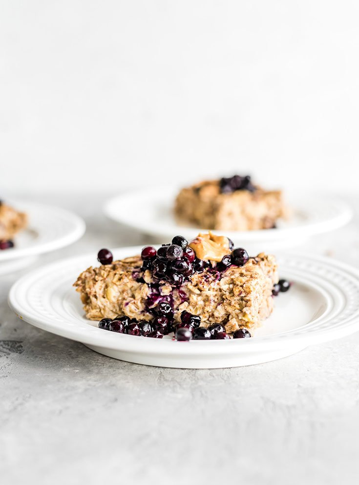Banana Baked Oatmeal Recipe From Running On Real Food