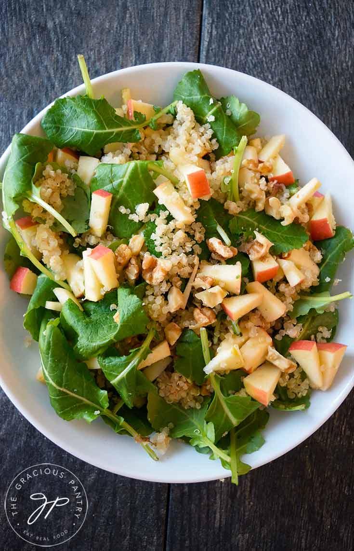 Baby Kale Quinoa Salad Recipe