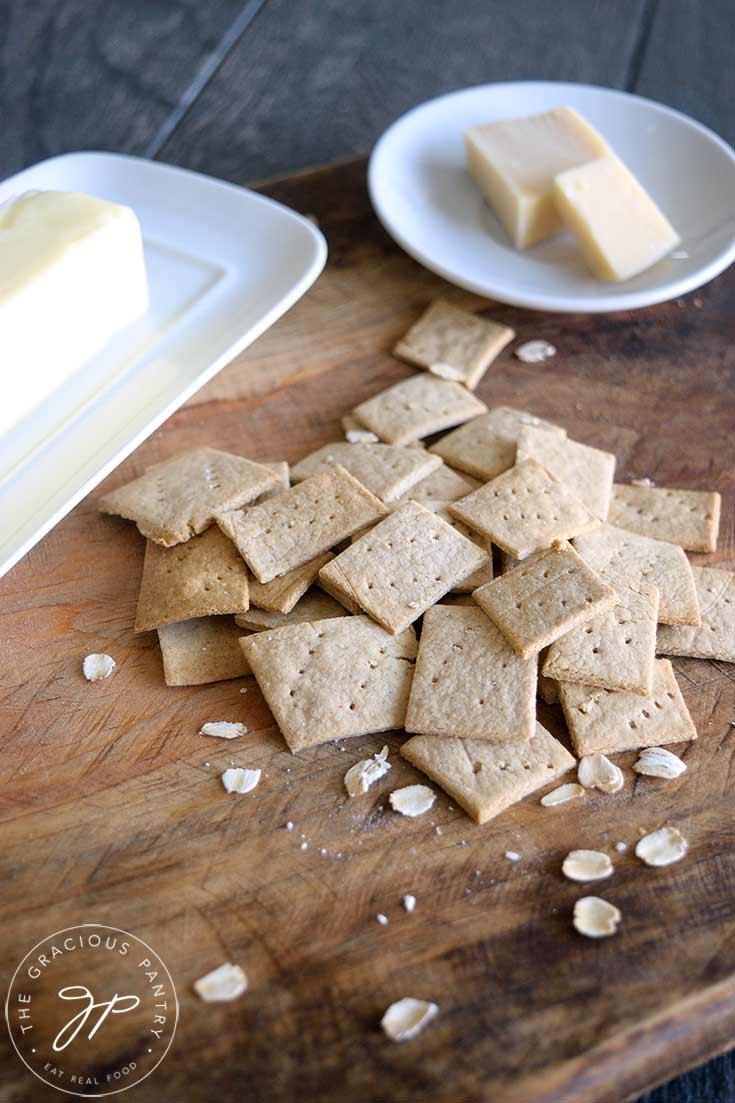 Oat Crackers Recipe