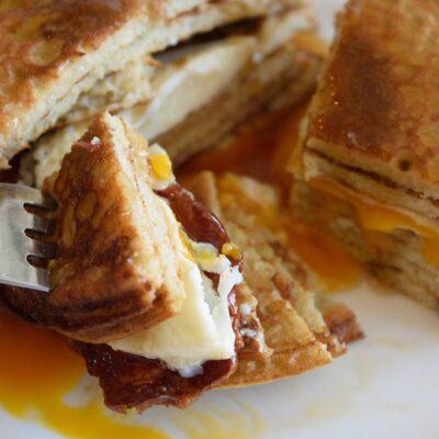 Pancake Sandwich Recipe For Valentines Day