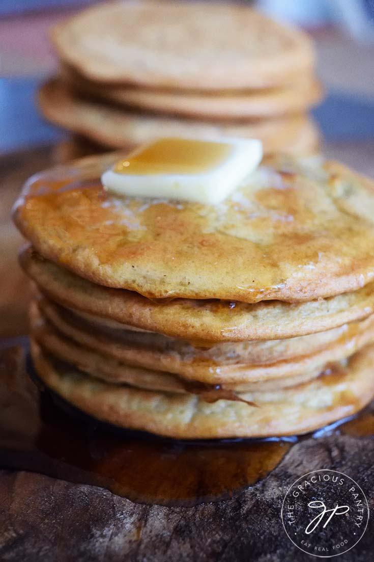 Leftover Oatmeal Pancakes Recipe