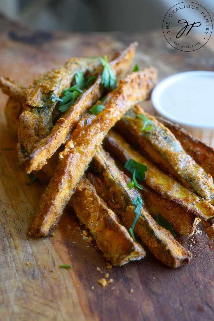 Cajun Zucchini Sticks (Air Fryer Recipe)