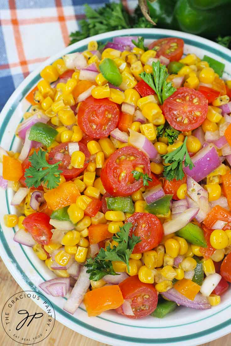 Cajun Corn Salad Recipe