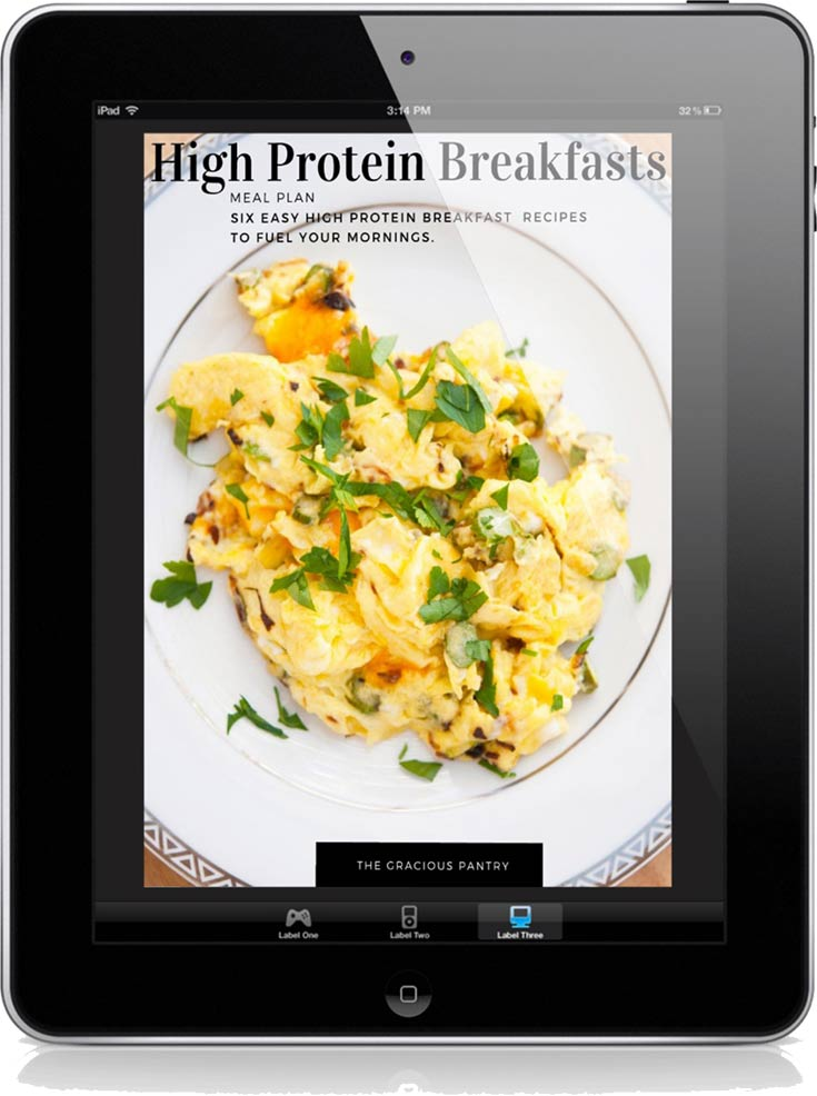 Protein Packed Breakfasts Meal Plan