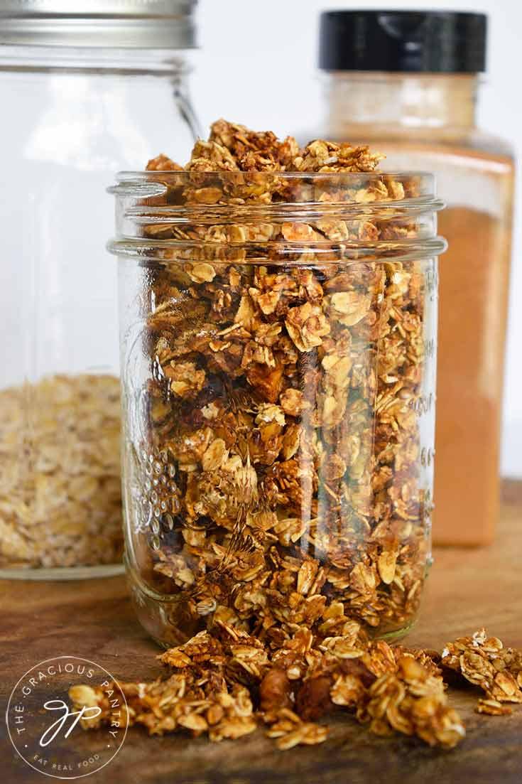 Recipe For Homemade Granola