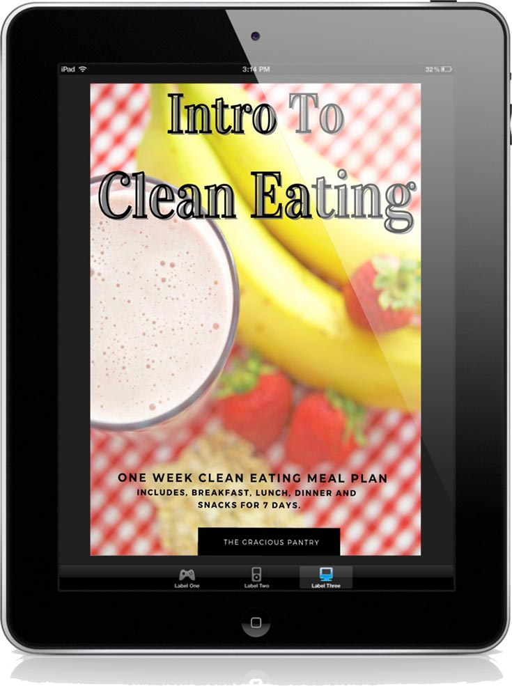 Intro To Clean Eating Meal Plan