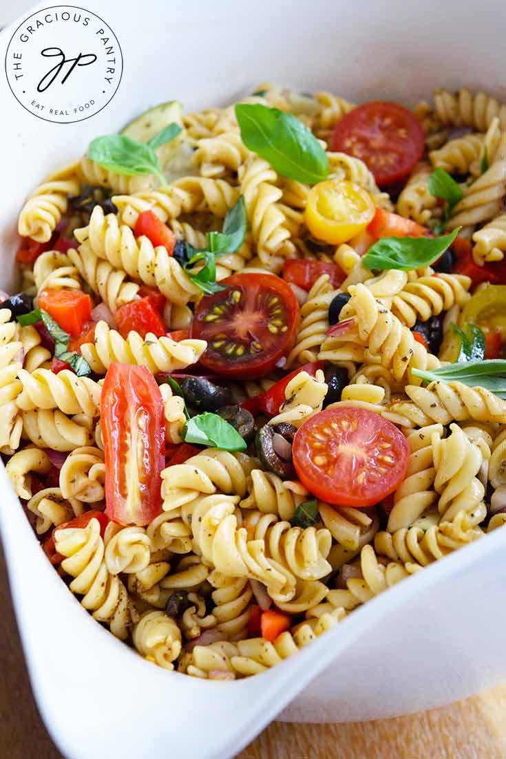Vegetable Pasta Salad Recipe