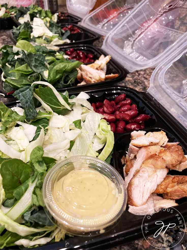 Salad For Lunch (Meal Prep Plan)