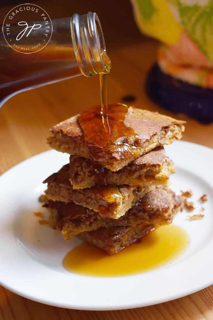 Cinnamon Swirl Pancakes (Sheet Pan Recipe)